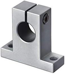 YIJIAN-UMBRELLA Linear Motion Produkte SK Vertikal Aluminium Wellenhalter (2 Stück) SK25 SK30 SK35 SK40 SK50 Linear Motion Wellen-Unterstützung (Size : SK30)