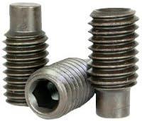 Set Screws Cup Point - Grub-Blind-Allen-Headless Screw Quantity: 100 Brass #6-32 x 1//8 -