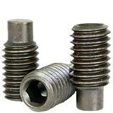 Set Screws Full Dog - Alloy Steel #10-32 x 3/4'' - Thermal Black Oxide (Quantity: 100) - Grub-Blind-Allen-Headless Screw