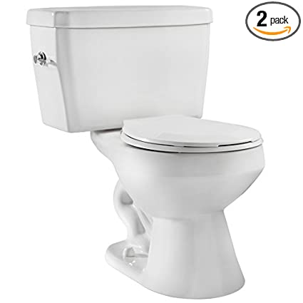 Niagara 22003WHCO1 EcoLogic 1.6 GPF Toilet with Round Bowl and Tank ...