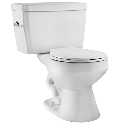 Niagara 22002WHCO1 EcoLogic 1.6 GPF Toilet with Elongated Bowl and Tank Combo, White by Niagara