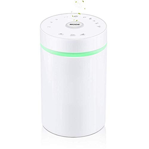 YWT Pure Essential Oil Diffuser, 7 Color-Changing LED Lights, USB Charging Silent Portable Fragrance Lamp, for Cars, Home, Office, Living Room