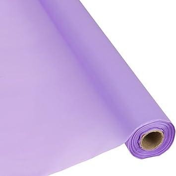 Amazon.com: Funda para mesa Lavanda de plástico Roll ...
