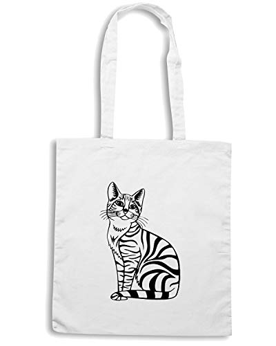 13 Bianca CAT Shopper ANIMALS ANIMAL 26111 CATS FUN0955 Borsa xZfTRwSqpR