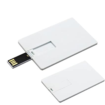 image about Printable Usb Drive identified as Sublimation Thin Rectangle Card Condition Sublimation USB Commitment