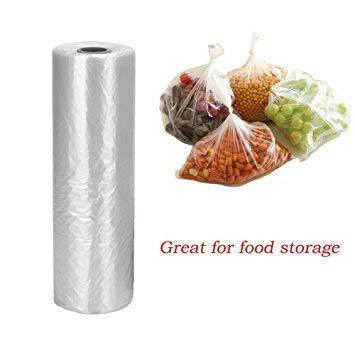 Rollo de bolsas para frutas y verduras de plástico ...