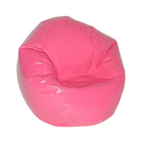 American Furniture Alliance Wetlook Bean Bag Jr Child, Magenta ()
