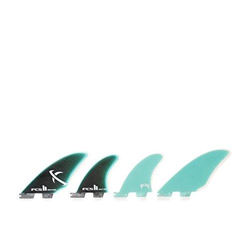 (FCS II Keel Quad Set PG Split Keel 4 Surfboard Fins)