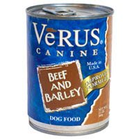 VeRUS Beef and Barley Formula Canned Dog Food