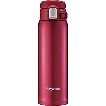 Zojirushi SM-SD48RC Stainless Steel Mug 16-Ounce New Clear Red