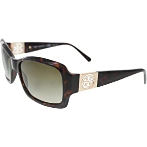 Tory Burch TY 9028 TY9028 Sunglasses 51013-56 - Tortoise Frame, Khaki Gradient TY9028-51013-56