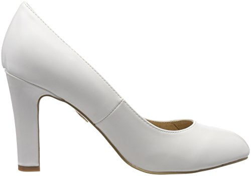 Box Women's P1239K White PU Buffalo 000 1 C473A White Pumps xTq6ZdIU7w