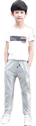 男の子 カジュアルパンツ 薄 長ズボン 美脚ストレッチ ストレッチパンツ おしゃれ カジュアル 伸缩性