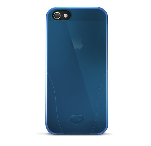 iSkin SOLO5G-BE1 Solo Case for iPhone 5 - 1 Pack - Retail Packaging - Blue ()
