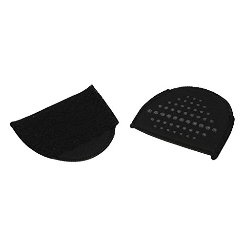 hunpta Insoles, 1Pair forefoot Invisible High Heeled Shoes Slip Resistant Half Yard Pads Black