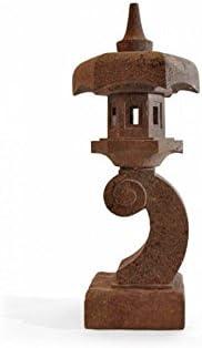 Linterna japonesa Aki (piedra, H 90 cm: Amazon.es: Jardín