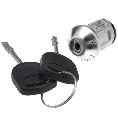 ENET 2 Keys Ignition Barrel Lock Switch Cylinder Steering Repai: Amazon.co.uk: Kitchen & Home
