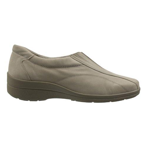 alpina 08491-119 Damen Schuhe Premium Qualität Slipper Beige (Beige)