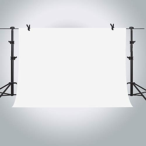 MME 10x7ft White Photo Video Photography Background Studio Non-Woven Fabric Backdrop Screen PURME003