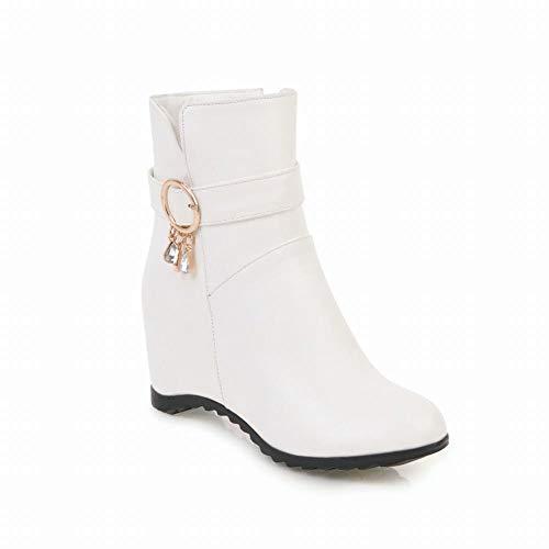 Short Grandi 's Luo Delle Scarpe Di 43 Boots Dimensioni Piane Caricamenti Sistema caldi Bianca 36 Brevi Donna' aumentate Del Martin Donne Stivali S Inverno Signore 1r6qx1Hw