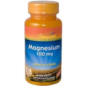 (THOMPSON NUTRITIONAL PRODUCTS Magnesium 100mg 120 TAB by Thompson)