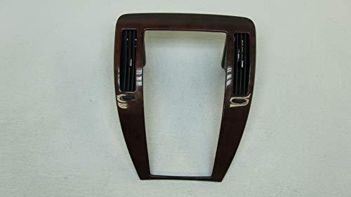 Morad Parts 2006 Cadillac STS Woodgrain Wood Grain Brown Radio Trim Bezel Plate w/Vents ()