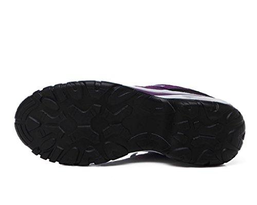 Fitness Tacco Sportive da Scarpe all'Aperto T 6CM Air Altezza ginnastica Casual Gold Running Porpora Donna Sneakers Scarpe 4wnxfS6Pq
