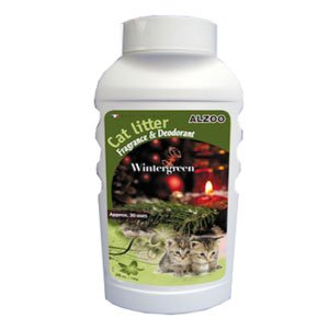 Alzoo Cat Litter Deodorizer - Wintergreen