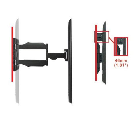Invision® inclinabile e girevole tv a parete staffa di montaggio a ...