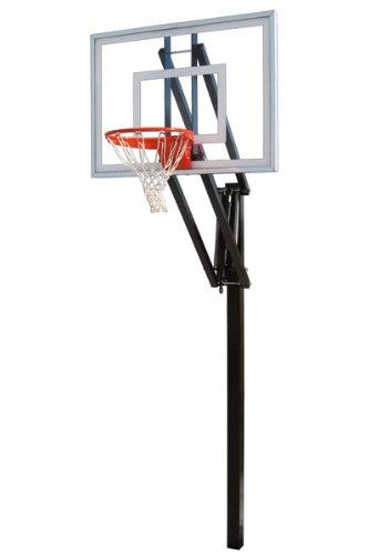 最初チームベクトルII調節可能なIngroundバスケットボールシステム B000NXJIL6