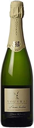 """Vouvray""""método tradicional de burbujas finas"""" recogida en 1 botella de 75cl."""