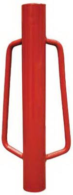 MAT 901147A Steel Head Fence Post Driver with Handles