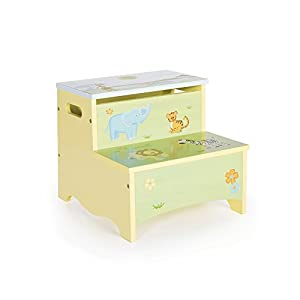 Guidecraft Wooden Hand-painted Savanna Smiles Kidu0027s Storage Step-Up Safari Theme  sc 1 st  Amazon.com & Amazon.com: Guidecraft Wooden Hand-painted Savanna Smiles Kidu0027s ... islam-shia.org