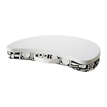 Ikea BYLLAN - Soporte para Ordenador portátil, Sunnaryd Negro, Blanco: Amazon.es: Hogar