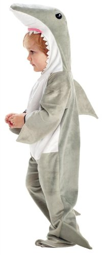 Underwraps Baby's Shark, Grey/White, Large ()