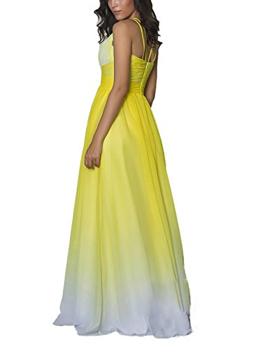 Drehouse Mousseline Robes De Demoiselle D'honneur De Haïsseur Femmes Longues Ombre Robes De Fête 2017 Photo 5