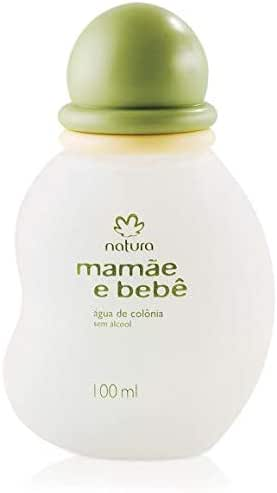 Natura - Linha Mamae e Bebe - Agua de Colonia Sem Alcool Tradicional 100 Ml - (Natura - Mom & Baby Collection - Alcohol Free Eau De Cologne 3.38 Fl Oz)