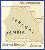 Senegal & Gambia 1:550,000 Travel Map, waterproof, GPS-compatible REISE