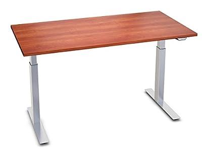 """UpDownDesks ESSENTIAL Complete Desk, 30"""" x 48"""", Motorized Desk, Height Adjustable Desk, Height Adjustable Standing Desk"""