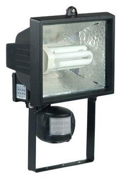 Faro de Bombilla de bajo consumo 230 V, con detector de desplazamiento zona de detección: 90° x 10 m: Amazon.es: Hogar
