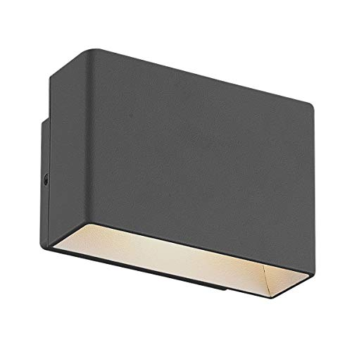 - Eurofase 28282-020 Vello LED Outdoor Wall Mount, Graphite Grey