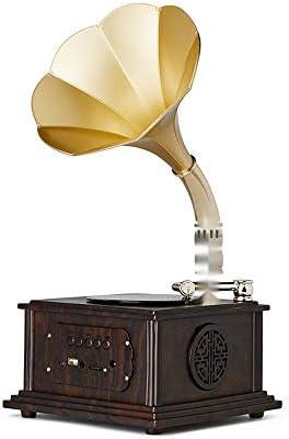 SMLCTY Antiguo gramófono, Retro salón Europeo de Bluetooth del ...