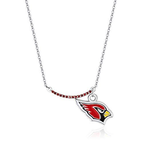 Pro Specialties Group NFL Arizona Cardinals Infinity Necklace ()
