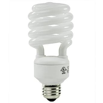 40 Watt Fluorescent Light Bulbs: 40 Watt CFL Light Bulb - Compact Fluorescent - 50 W Equal - 5000K Full  Spectrum,Lighting