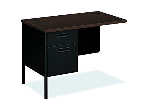 Return Desk Pedestal Left (HON Metro Classic Pedestal Desk, Mocha)