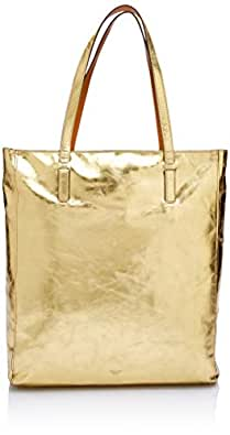 Oroton Women's Escape Medium Tote, Gold, One Size