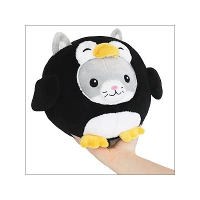 "Squishable / Undercover Kitty in Penguin - 7"": Toys & Games"