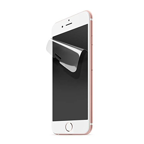 Iluv Screen Protector - iLuv iPhone 8 Plus / iPhone 7 Plus Anti-glare Screen Protector Kit of 2 Films, 1 Squeegee, and 1 Cleaning Cloth with Four-layer Construction, Anti-fingerprint, and 3D Touch Compatibility