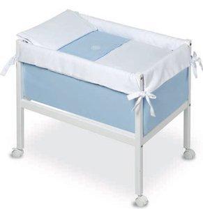 Bimbi Elite–Baby, 61x 90x 80cm, Farbe Weiß und Blau