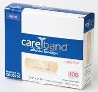 Aso Corporation CBD2760-024-00 Bandage Adhesive Sheer 5/8x2.25